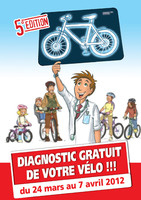 Diagnostic gratuit du vélo, du 27/03 au 07/04, en France